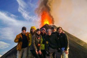 Expedición de volcanes